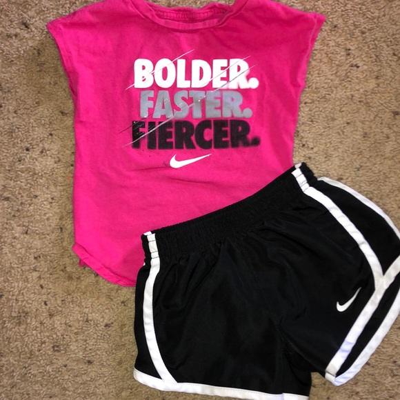 Nike Other - Toddler girl athletic set-Nike